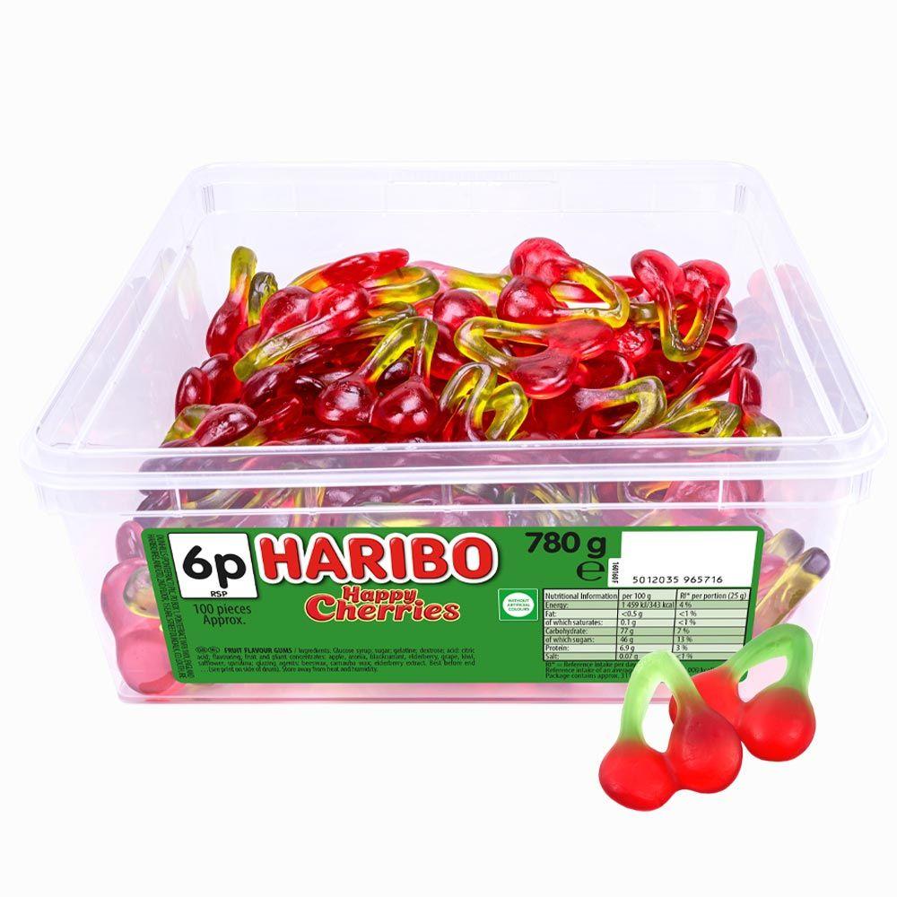Haribo Happy Cherries 6p Tub 780g