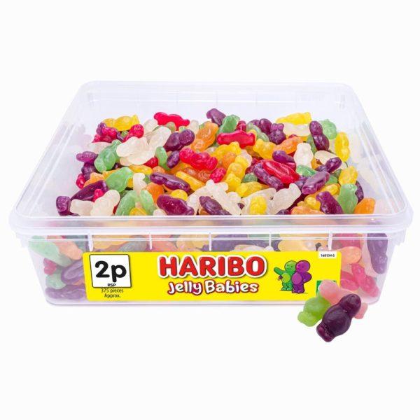 Haribo Jelly Babies 2p Tub 778g