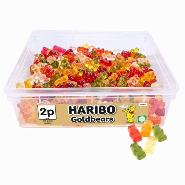 Haribo Gold Bears 2p Tub 788g