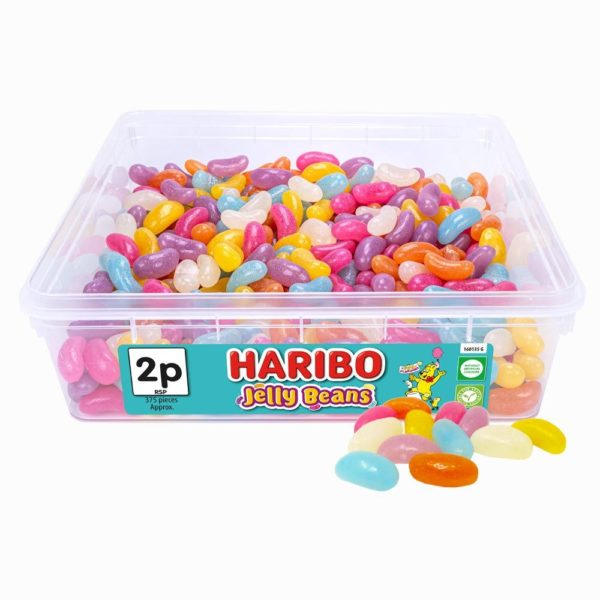 Haribo Jelly Beans 2p Tub 853g