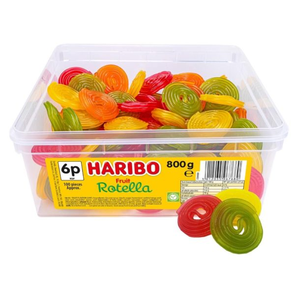 Haribo Rotella 6p Tub 800g