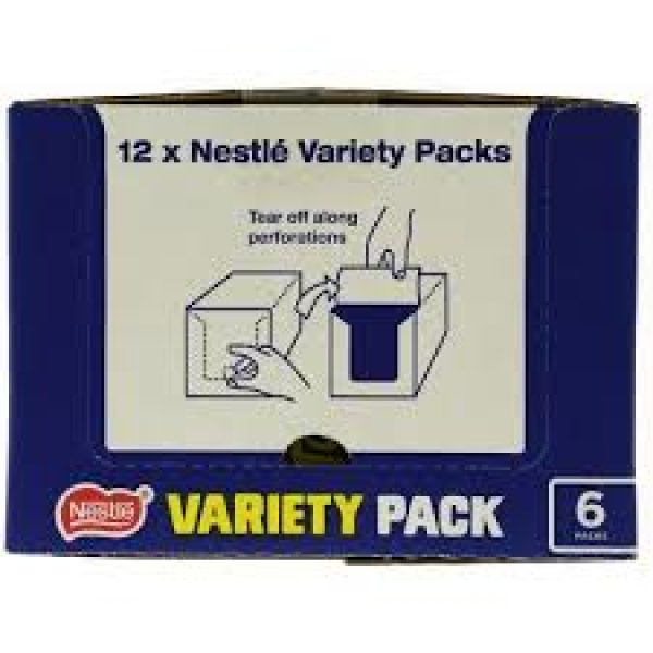Nestle Mixed Variety 6 Pack x 12