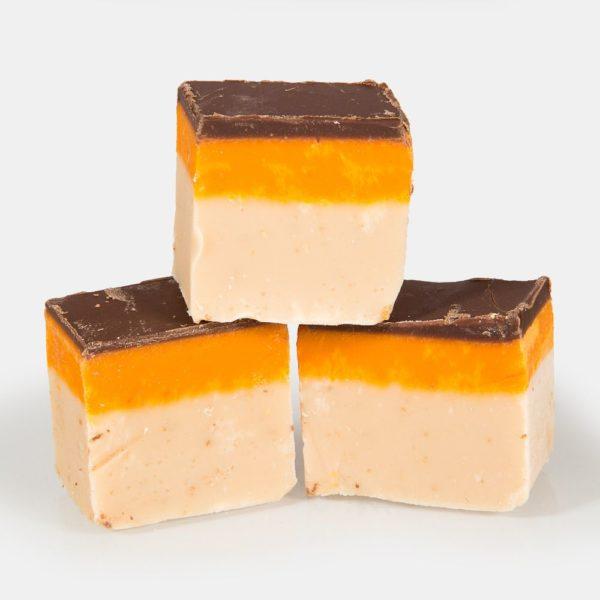 The Fudge Factory Jaffa Cake Fudge Tub 2kg