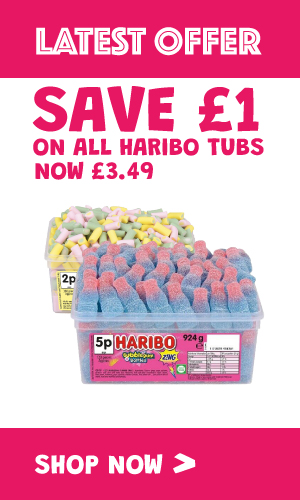 Haribo Sweet Tubs - Special Offer