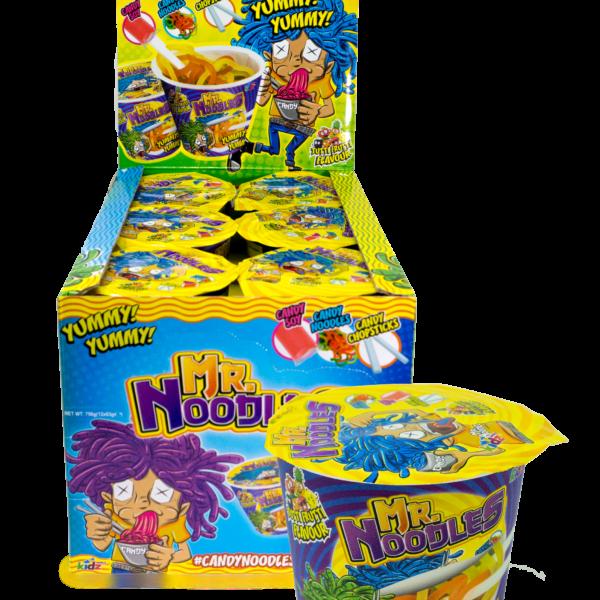 Kidz World Mr Noodles Pot 63g