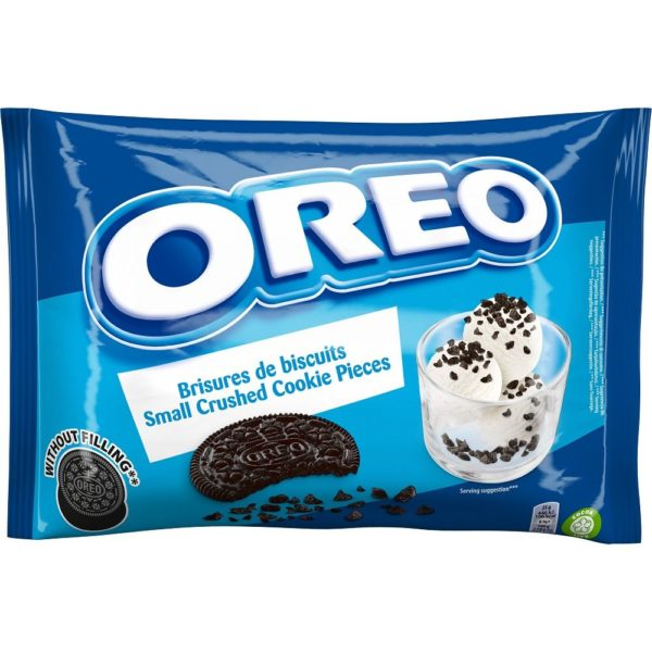 Oreo Crushed Cookie Crumbs (No Creme) 400g