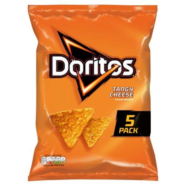 Doritos Tangy Cheese Tortilla Chips 30g 5 Pack