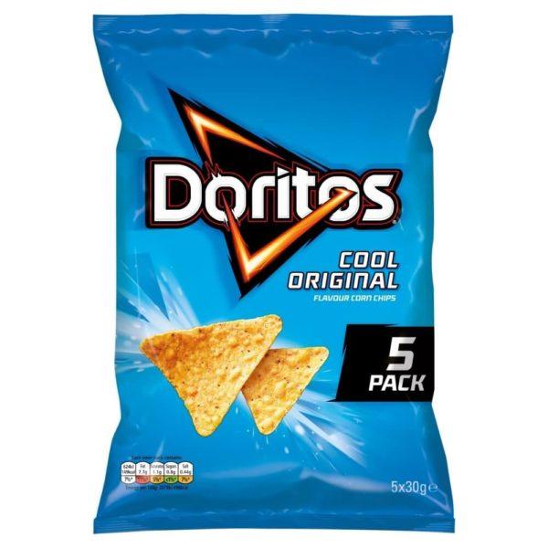 Doritos Cool Original Multipack Tortilla Chips 30g 5 Pack