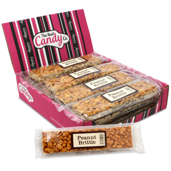 The Real Candy Co. Peanut Brittle Bar