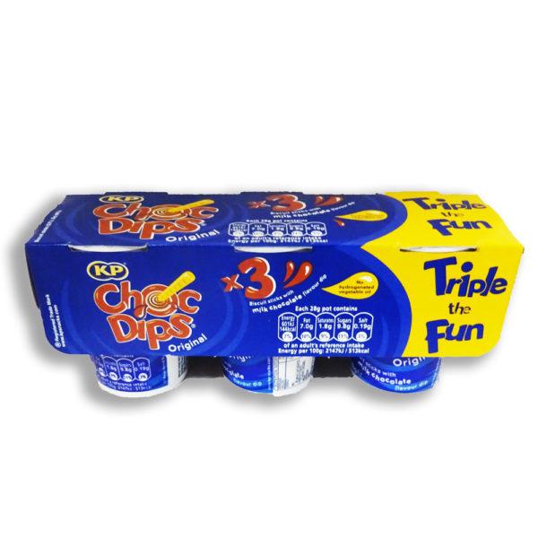 KP Choc Dips Original 3 Pack