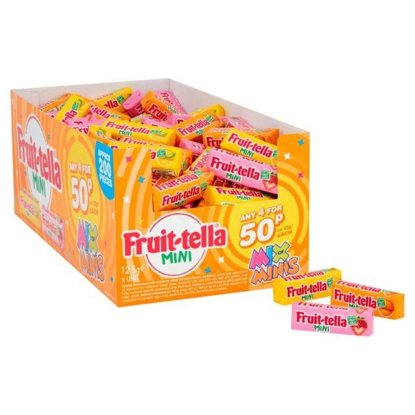 Fruittella Mix Of Minis 12g