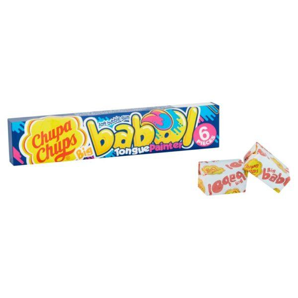 Chupa Chups Big Babol Blue Raspberry Flavour Soft Bubble Gum 27.6g