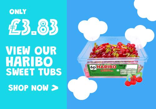 Haribo Sweet Tubs
